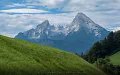 Mountain Light (Tim Allendrfer) Tags: lighting morning light sky panorama mountains alps rock stone clouds landscape bavaria day outdoor meadow far watzmann