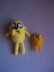 Jake, the dog (Miss Carlaina Love!) Tags: animals kids toys diy dolls handmade crochet craft etsy amigurumi juguetes ganchillo crochetlover etsyowner