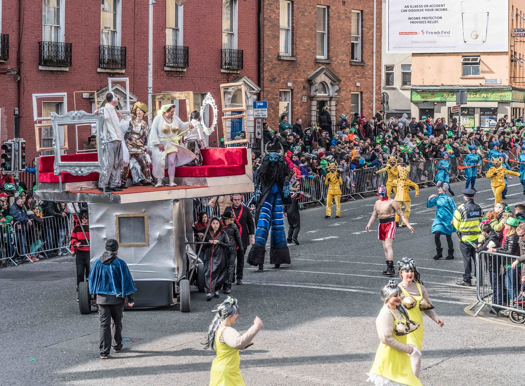 GAME ON BY CITY FUSION [DUBLIN 2016 PATRICK'S DAY PARADE]-112574