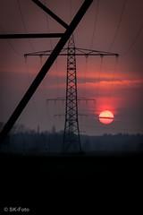 Energy (s.knellesen) Tags: sunset germany deutschland energy sonnenuntergang energie niederrhein lowerrhine knellesen