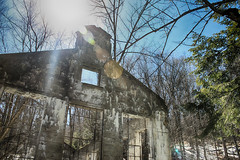 The Ruins (jeanette.alexiuk) Tags: park blue sky canada nature architecture canon landscape spring ruins ottawa lan gatineau cana theruins gatineauhills