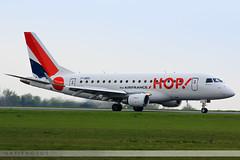 LIL - Embraer 170STD (F-HBXI) HOP! (Aéro'Passion) Tags: canon photography airport landing lil hop reverse lille embraer emb lfqq roulage lesquin natw 60d aéropassion 170std