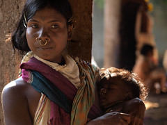 Beautiful tribe woman with her doughter, orissa, india (magbrinik) Tags: portrait india children tribes beautifulwoman tribe motherhood minority orissa tenderness ethnology traditionalvillage trib minoritypeople tribalmarket triballife indiatribe motheranddoughter sweetnes remoteland tribesofindia orissatribe tribesoforissa orissaportrait tribesofasia