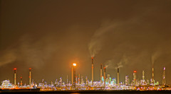 Factory at night (Eracross) Tags: night photography singapore factory slow sony slowshutter shutter harbourfront factories a77ii