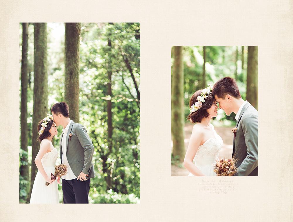 黑森林系自然婚紗外拍