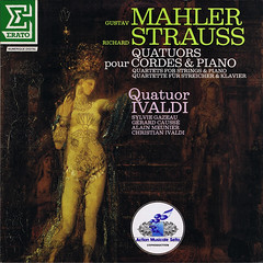 Mahler Strauss Piano Quartets - Ivaldi Gazeau Causse Meunier Erato (sacqueboutier) Tags: records vintage naked nude vinyl lp record classical salome classicalmusic strauss lps lpcover lpcollection vinylcollection vinyllover vinylcollector vinylnation lplover lpcollector