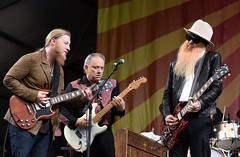 Jazz Fest - Billy Gibbons and Jimmie Vaughan with Tedeschi Trucks