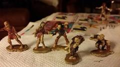 Zombie minis (Nefarious Baker) Tags: reaper zombie dd minis
