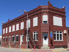 Old Bank (Ravenna, Nebraska) (courthouselover) Tags: nebraska ne banks ravenna buffalocounty