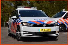 Dutch Police VW Touran Type 4. (NikonDirk) Tags: camera holland bus netherlands dutch vw golf volkswagen foto cops 4 nederland police zeeland bumper cop speaker type t5 brabant mwb gp transporter politie touran anpr hulpverlening middenenwestbrabant nikondirk jb014k