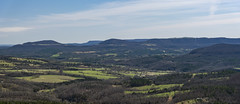 Scenic Overlook (Nikon Telezoomer) Tags: vacation panorama nikon jasper d750 arkansas nikkor stitched ozarkmountains hwy7 2images 24120mmf4 adobelightroomcc2015
