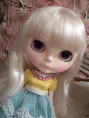 Floss wearing a new dress......