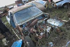 DSC_9788 (srblythe) Tags: uk classic cars ford abandoned graveyard car austin volkswagen scotland volvo rust fiat decay north rusty british scrapyard hyundai leyland vauxhall volvograveyard