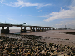 Severn Bridge (SimonFewkes) Tags: bridge wales river bristol crossing suspension severn seven severnbeach severncrossing