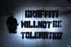 Ok then.... (Waving lights in the dark) Tags: abandoned graffiti sheffield graff graffitiart tolerated sheff sheffgraff
