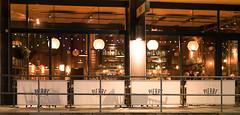 Pierre (canong2fan) Tags: eu england europe pierre torquay uk devon evening lights restaurant windows fujinonxf35mmf14r illumination geotagged fujixe2