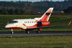 LY-DSK.EDI160416 (MarkP51) Tags: plane airplane scotland airport nikon edinburgh image aircraft aviation edi hawker bizjet egph corporatejet 850xp d7100 lydsk markp51