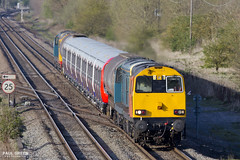 20314 + 20096 pass Catholme working 7X09 1147 Old Dalby - West Ruislip 20/4/2016 (Paul-Green) Tags: pictures old uk west english electric canon outdoors photography one 1 flickr diesel photos pics transport stock tube engine rail loco move junction class 7d gb type april 20 locos dalby lul jn 2016 ruislip ecs movemnet wychnor 20096 20107 20314 20132 catholme 7x09