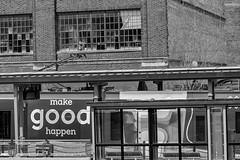 StPaulArtCrawl2016_46373-.jpg (Mully410 * Images) Tags: old blackandwhite building monochrome sign train good stpaul 2016 uniondepot artcrawl niksilverefexpro