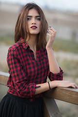 Najwa (aminefassi) Tags: africa portrait people beach beauty fashion rock model outdoor morocco 5d casablanca mode 135mm  login najwa fashionportrait 135mmf2l  ef135mmf2lusm aminefassi najwasabbar