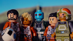 Resistance Black Squadron (Bricks Addiction) Tags: starwars lego legostarwars resistance episodevii blacksquadron bricksaddiction theforceawakens