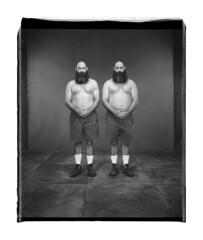 V_1272 (C&C52) Tags: portrait personnes hommes collector jumeaux vintageshot