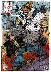 MAD MAX FURY DRAW - Officina Infernale (Sugarpulp) Tags: comics tribute fumetti madmax illustrazione sugarcon sugarpulp sugarpulpconvention