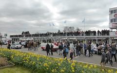 Grid Walk for the Gerry Marshall Trophy (jane_sanders) Tags: people sussex westsussex crowd spectator goodwood gridwalk 74mm motorcircuit membersmeeting gerrymarshalltrophy 74thmembersmeeting