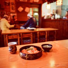 20160319-06 (GenJapan1986) Tags: 2016 fujifilmgf670wprofessional        6x6 travel island film   japan sushi food niijima fujifilmprovia400x