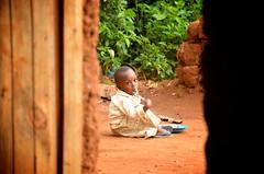 Rwanda IV2016 4 (mateuszgasiski) Tags: africa boy food backyard child eating african hunger nutrition