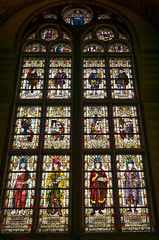 Stained glass (bramgerritsen) Tags: amsterdam culture stainedglass rijksmuseum rembrandt painters glasinlood
