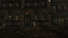 Lonely Street (Acacia Merlin) Tags: loneliness secondlife heartbreakhotel innsmouth