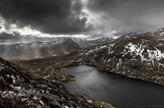 Ffynnon LLugwy, Snowdonia (Edward W Roberts) Tags: landscape stormy snowdonia eryri ffynnon llugwy