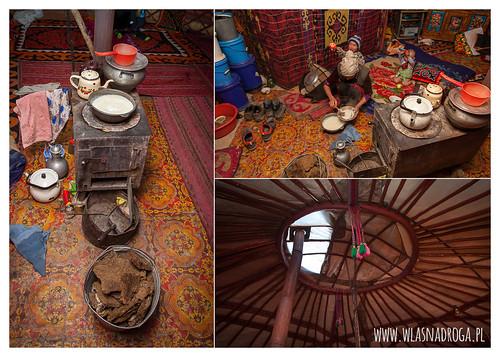 Jurta w Pamirze