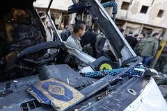 شام میں سرگرم وہابی دہشت گرد تنظیم داعش نے نبی کریم حضرت محمد مصطفی صلی اللہ علیہ و آلہ وسلم کی نواسی حضرت سیدہ زینب (س) کے روضہ کے قریب بم دھماکوں میں درجنوں افراد کو شہید اور زخمی کردیا ۔ (ShiiteMedia) Tags: pakistan و shiite محمد بم مصطفی س حضرت وسلم شام زینب اللہ نبی گرد کو کے کریم زخمی اور افراد کی قریب shianews نے میں تنظیم آلہ shiagenocide shiakilling صلی علیہ داعش سرگرم shiitemedia shiapakistan mediashiitenews شہید وہابی کردیا دہشت دھماکوں ۔shia درجنوں روضہ سیدہ نواسی