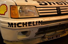 Peugeot 205 WRC (PaDugong) Tags: paris mobile shell voiture retro wrc salon peugeot ancienne 205 rm portedeversailles
