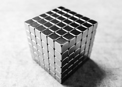 (László Modori) Tags: blackandwhite white abstract black architecture blackwhite magnets structure minimal cube block cubes minimalism simple magnet magnetic