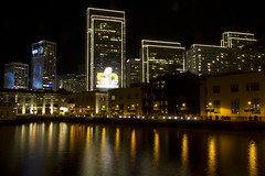 Super Bowl 50 as seen from San Francisco Embarcadero (San Diego Shooter) Tags: sanfrancisco longexposure football cool francisco cityscape nfl uncool superbowl cool2 sanfranciscoembarcadero uncool2 uncool3 uncool4 uncool5 uncool6 uncool7 superbowl50 nflsuperbowl50 nightcityscapesan