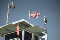 13.57, Marina del Rey (Ti.mo) Tags: california venice usa architecture iso100 us december unitedstates flag lifeguard selected 55mm venicebeach f18 baywatch marinadelrey 2015 ev  secatf18 fe55mmf18za