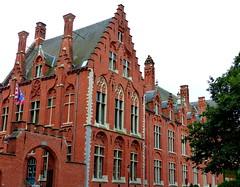 P1030130-Bruges, Belgium (CBourne007) Tags: city architecture buildings europe belgium bruges veniceofthenorth