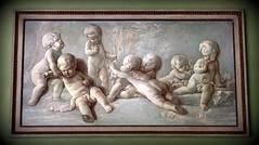 Tipsy cherubs at play (SteveJM2009) Tags: uk art painting spring august hampshire nationaltrust cherubs stevemaskell 2014 putti hintonampner hants jacobdewit reubenesque