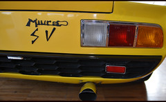 LAMBORGHINI Miura SV (baffalie) Tags: auto old classic car sport vintage italian italia expo voiture muse retro coche italie ancienne musum worldcars classeras