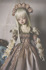 Commission for meganlynnlds (AyuAna) Tags: set ball design clothing eyes doll close dress body handmade ooak style clothes half historical bjd dollfie dim hybrid jointed whiteskin dollinmind benetia ayuana dolllegend