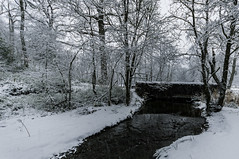 2016-01-16 038 (jamie reilly) Tags: trees snow water grass river scotland pier boat highlands scenery stream burn loch boathouse ard aberfoyle lochard