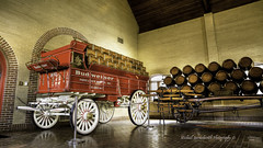 Budweiser Wagon (Michael Bartoshevich) Tags: classic beer brewing canon wagon wooden factory display wheels transport stlouis showroom bud hdr merrimack lager kegs redwagon cases merrimacknh anheuser anheuserbusch kingofbeers woodenkegs forallyoudo mark5diii clydesdalewagon