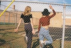 School's Out (LindseyL33) Tags: school girls girl youth 35mm polaroid preppy virgin nostalgia american nostalgic prep apparel suicides