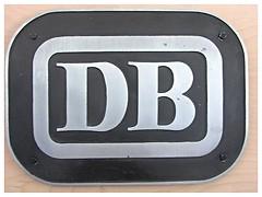 DB-Keks (v8dub) Tags: railroad sign museum germany emblem logo deutschland keks bad eisenbahn railway db muse schild bahn allemagne signe deutsche zeichen wappen niedersachsen bederkesa sigle emblme museumsbahn