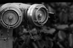 Hydrant - Sigma-Z 135mm 2.8 Pantel lenstest (leunkstar) Tags: hydrant fire prime bokeh sigma tele 28 135 firehose ais 135mm telelens lenstest brandkraan primes d90 watercock pantel nikond90 sigmaz mflenses pantell