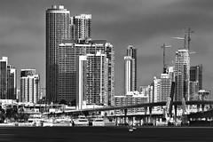 Downtown Miami, Florida, U.S.A. / Edgewater archictecture (jorgemolina37) Tags: urban usa building skyline skyscraper cosmopolitan nikon downtown cityscape realestate metro florida miami highrise metropolis residential metropolitan condominium southflorida centralbusinessdistrict biscaynebay magiccity commercialproperty miamidadecounty jorgemolina canonrebelt5i