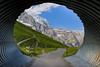 Welcome to the Eiger Trail. The Jungfrau mountain peak,Berner Oberland, Switzerland. No. 7912. (Izakigur) Tags: jungfrau berneroberland bern berna berne thelittleprince thejungfrauregion wengen switzerland schweiz svizzera nikond700 nikkor2470f28 tunnel eiger europa eigertrail lasuisse laventuresuisse liberty lepetitprince topf800 100faves 20faves 250faves 300faves 500faves brilliant